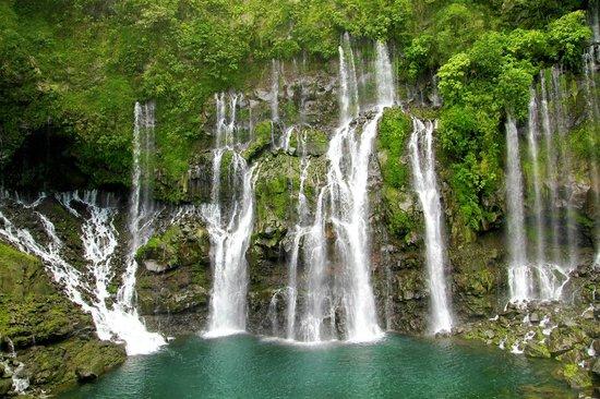 "Ile de La Réunion : Der Wasserfall ""Cascade Langevin"""