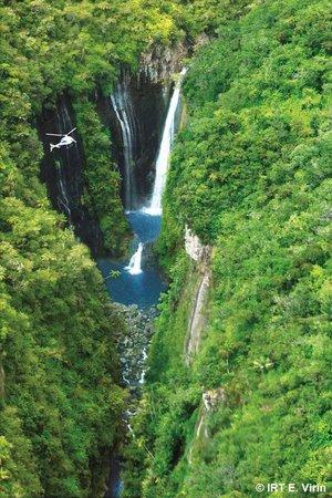 Reunion Island: Der Wasserfall Takamaka