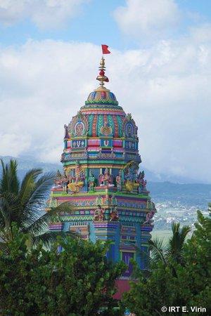 Reunion Island: Tamilischer Tempel