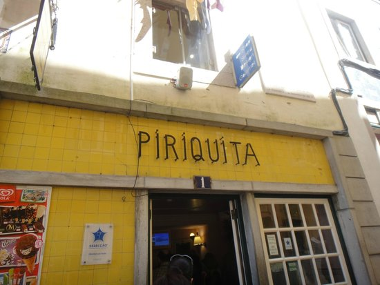 Piriquita II: main entrance