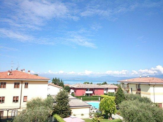 Hotel Villa Olivo: Aussicht vom Balkon