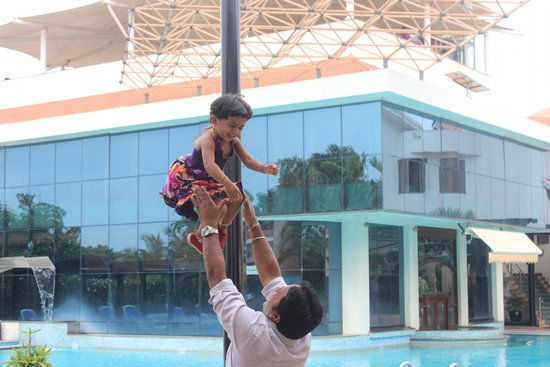 Clarks Exotica Convention Resort & Spa: My Angel, Just landed from Sky!