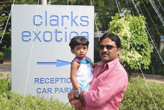 Clarks Exotica Convention Resort & Spa: Just for pose. :)