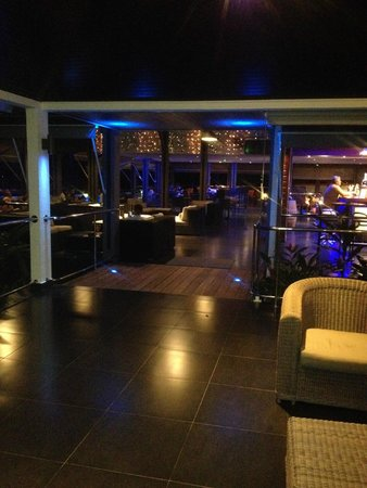 La Créole Beach Hôtel & Spa : Bar