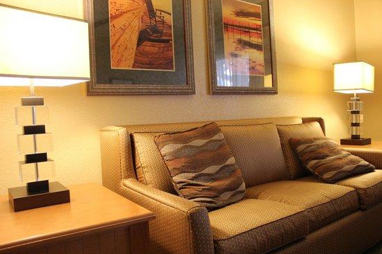 Holiday Inn Club Vacations At Orange Lake Resort: Living room