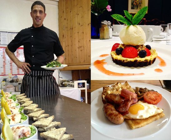 Hazelwood House: Our Chef and some of his delights