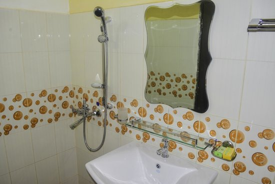 VJ City Hotel : Bathroom View