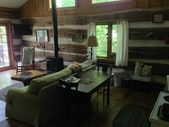 The Inn & Spa at Cedar Falls: Inside Dogwood Cabin
