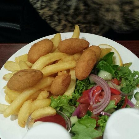 Pj's Fish and Chip Shop: NZ mussel meal