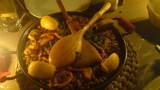 La Pasion Restaurant : Paella nefis...