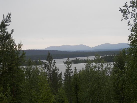 Pallas-Yllästunturi National Park: View from the way to Sarkajarvi