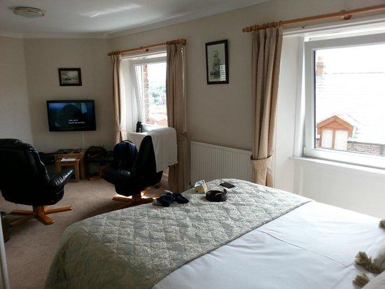 Lavinia House: the bedroom