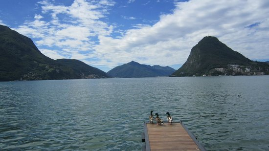 Grand Hotel Villa Castagnola : lake