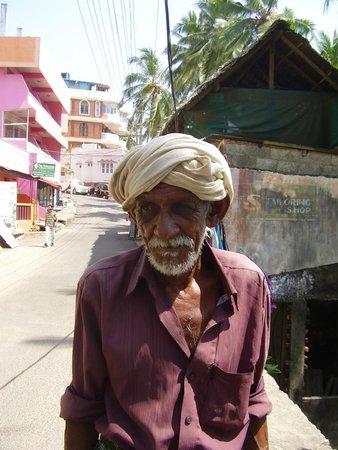 Santhigiri Ayurveda Heritage: One of the many interesting faces I met in Kovalam