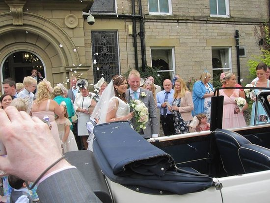 Astley Bank Hotel: Beautiful and romantic setting for a wedding