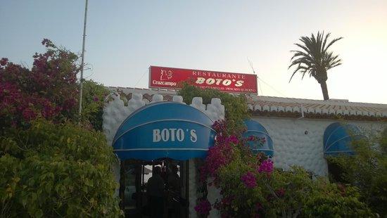 Restaurante Boto's: Fachada