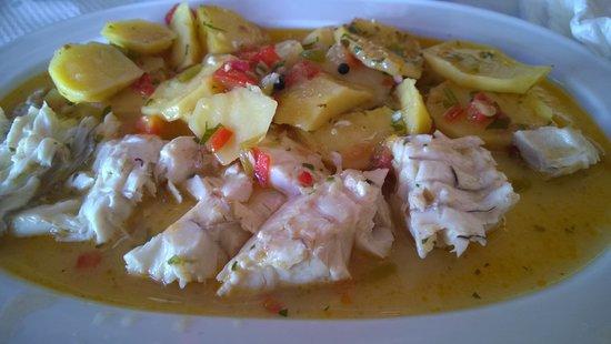 Restaurante Boto's: El pescado servido