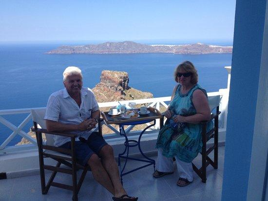 Anita's Villa - Santorini: Breakfast