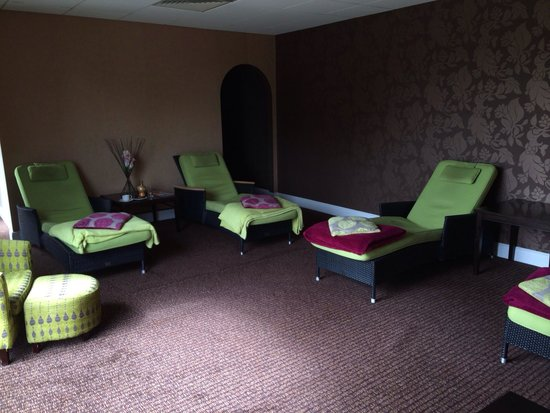 Lion Quays: Relaxation area in spa