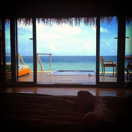 Adaaran Prestige Vadoo : view from room