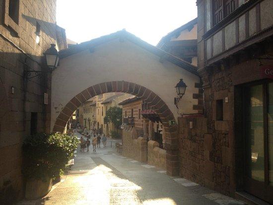 Poble Espanyol: barrio castellano