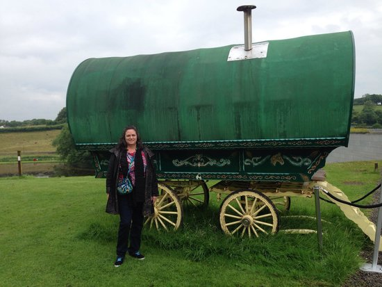 National Museum of Ireland - Country Life : Michele with Gypsy cart.