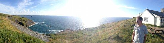 YHA Tintagel: View from Tintagel YHA