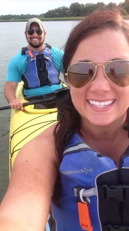 Charleston Outdoor Adventures: Sea kayaking with the dolphins