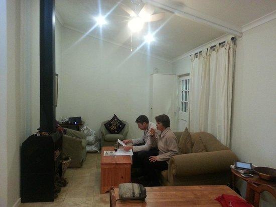 Riverside Cottages at La Bourgogne: living room
