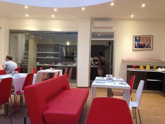 Hotel Genius Downtown : Breakfast room