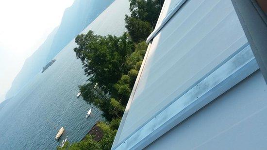 Hotel Arancio: Aussicht auf den See