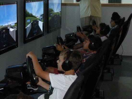 The Race Hut Berkshire: Concentration!