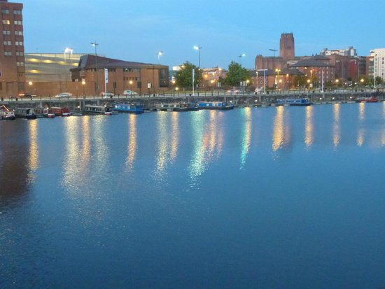 Holiday Inn Express Liverpool-Albert Dock : Vistas del Albert Dock