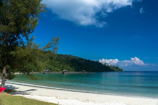 Bunga Raya Island Resort & Spa: Пляж