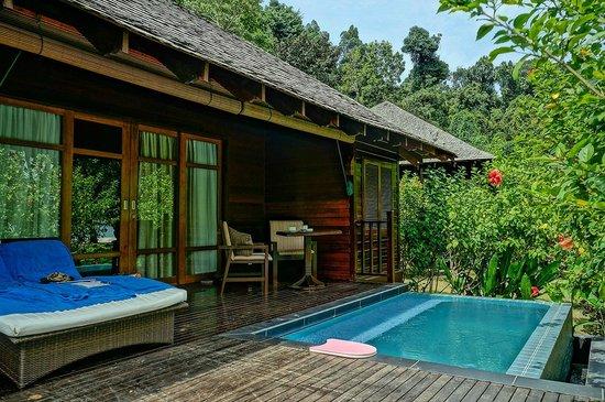 Bunga Raya Island Resort & Spa: Beachfront villa