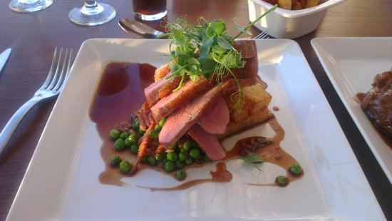 Fistral Beach Hotel and Spa : Excellent Duck