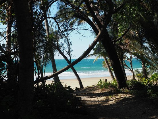 Freestyle Resort Port Douglas: A short walk across the road to 4 Mile Beach
