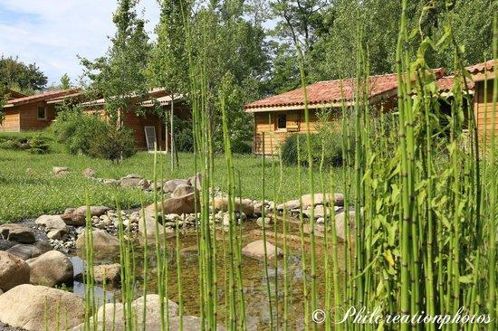 Camping Eskualduna : chalets