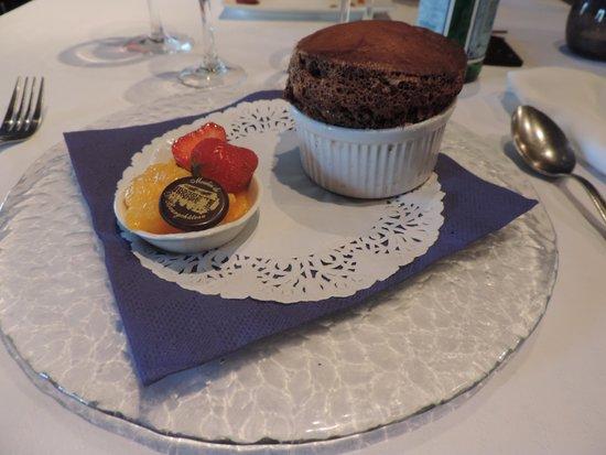 Le Moulin de Bourgchâteau : soufflet au chocolat