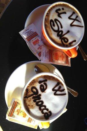 Caffè Art!!