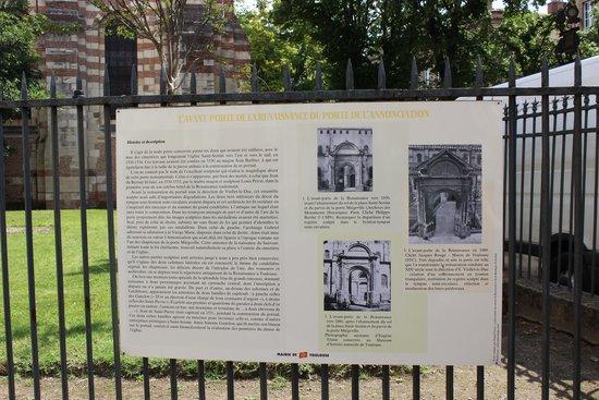 Basilique Saint-Sernin : the introduction of the church