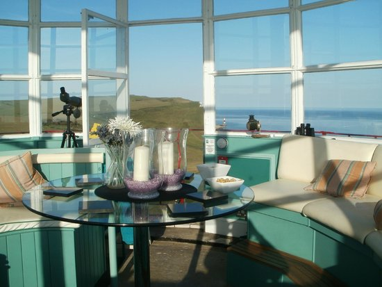 Belle Tout Lighthouse: Lantern Room By Day