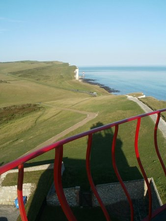 Belle Tout Lighthouse: Lighthouse Shadow