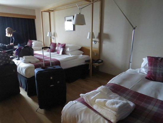 Radisson Blu Hotel, Edinburgh: The family room