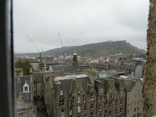 Radisson Blu Hotel, Edinburgh: View from the room