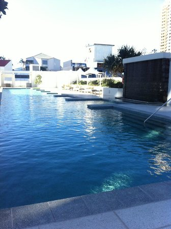 Hilton Surfers Paradise Hotel: *Too cold to swim when I was there