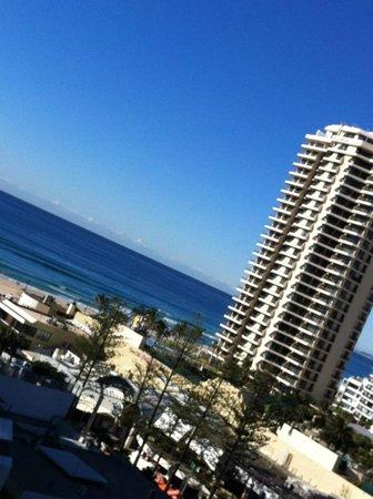 Hilton Surfers Paradise Hotel: Ocean view