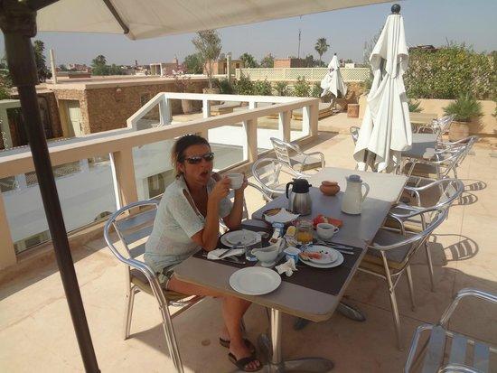 Riad Marrabahia : terrasse