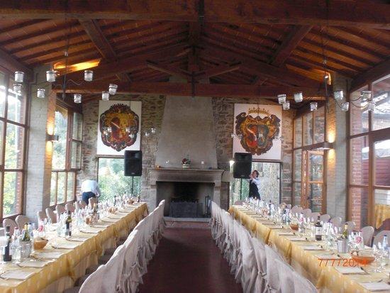 Il Castello di Gargonza : Rehearsal Dinner at the restaurant
