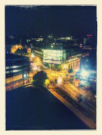 The Britannia Nottingham Hotel: My view from room 722